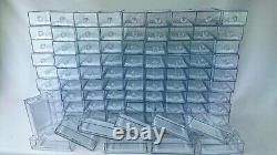100 boites cristal vides pour ranger vos Majorette, vos Matchbox ou hot Wheels