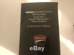 112 Minichamps 122112146 Rossi 2011 GP11.2 Ducati Tribute Marco Simoncelli