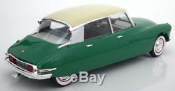 112 Norev Citroen DS 19 1956 green/creme