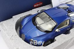 118 AUTOart Bugatti Veyron EB 16.4 Bleu Centenaire (Blue Metallic) 70951