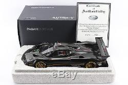 118 AUTOart Signature. Pagani Zonda R. Carbon Fiber. 78261