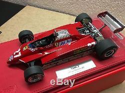 118 BBR P1894B FERRARI 126C2 #27 Gilles Villeneuve GP San Marino 1982