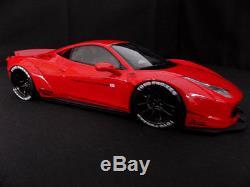 118 Ferrari 458 Italia Liberty Walk LB Performance rot GT-Spirit GT084 (#211/.)