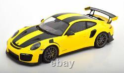 118 Minichamps Porsche 911 (991/2) GT2 RS 2018 gelb/schwarz