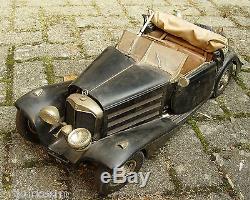 18 Pocher Modellauto, Mercedes 500 K / Ak 1935 Cabriolet, Restaurationsobjekt