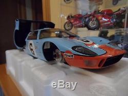 1/12 GMP FORD GT40 Winner Le mans 24H LM 1969