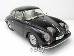 1/12 PREMIUM CLASSIXXS Porsche 356 A Coupé Black
