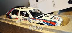 1/18 Autoart Lancia Delta S4 Rac 1985 Rally Winner-nightrace-super Rare Version