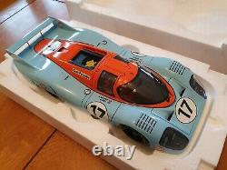 1/18 AUTOart GULF Porsche 917 LT LH (Long Tail) Le Mans 1971 Boxe, NEW, RARE