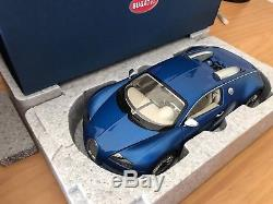 1/18 Autoart Bugatti Veyron 16.4 Bleu Centenaire