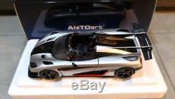 1/18 Autoart Koeingsegg Agera One Silver