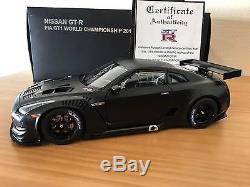 1/18 Autoart Nissan GTR FIA GT1 Black