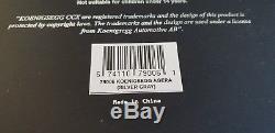 1/18 Autoart Signature Koenigsegg Agera Silver Gray VERY RARE 79006