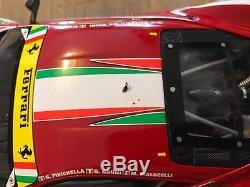 1/18 BBR FERRARI 458 ITALIA GT2 PRO 2013 24h du mans Comme neuve