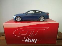 1/18 Bmw M4 Alpina B4 Coupe Biturbo 2014 Gt090 French Blue Gt Spirit 39/1000