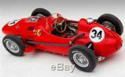 1/18 EXOTO Ferrari F1 Dino Typo 246 1958 Monaco GP L. Musso #GPC97215 N°34 NEW