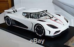 1/18 Koenigsegg Agera R White Frontiart no Autoart BBR