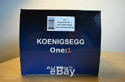 1/18 Koenigsegg One1 Autoart