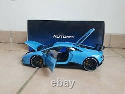1/18 Lamborghini Huracan Performante Bleu Cepheus Autoart