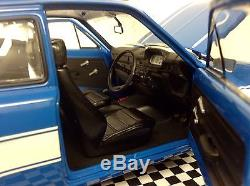 1 18 MINICHAMPS Mk1 Escort PINTO ENGINE AVO RS2000 Rally Mexico Tuning Modified