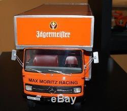 1/18 Max Moritz / Jägermeister Möbel Wagen Renndienst