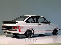 1/18 Minichamps Mk2 Escort RS XE Ford Tuning Modified Sunstar