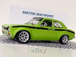 1 18 Mk1 Escort AVO MEXICO Le' Mans Green! Triple 9 Modified Rally RS2000 Tuning
