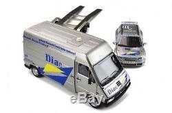 1/18 Ottomobile OT289 Pack Renault Master Clio maxi lim. Ed. 999 neuf otto
