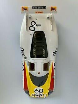 1/18 SPARK 18S291 PORSCHE 908-01 #60 Le Mans 3rd