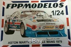 1/24 Aston Martin AMV8 RHAM The Muncher Le Mans 1979 #50 Kit FPP MODELOS