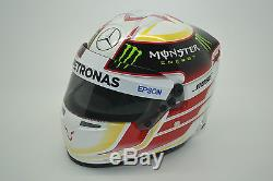 1/2 Scale Lewis Hamilton Mercedes Petronas F1 2015 Bell Helmet World Champion