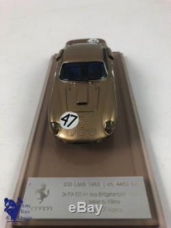 1/43° AMR par ALBERCA FERRARI 330 LMB 500km BRIDGEHAMPTON 1963 N°47 Ch 4453 GT