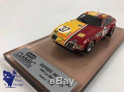 1/43 Bbr Bc11 Ferrari 365 Gtb4 Daytona Le Mans 1973 N°37