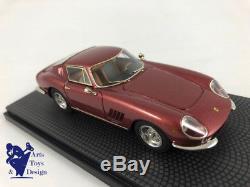 1/43 Bbr Car09e Ferrari 275 Gtb/c Ch 9063 Bernie Ecclestone 1997 N°14 Sur 72