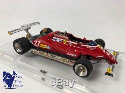 1/43° Bosica F1 Ferrari 126c2 Gilles Villeneuve Grand Prix USA 1982 Microsprint