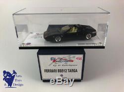 1/43 Fabregues Gt Factory Amr Ferrari Bb 512 Targa Noire