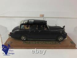 1/43 Fyp Ref 12 Rolls Royce Phantom VI Pgh 101 Camberra III 1978 Avec La Reine