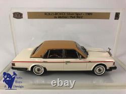 1/43 Fyp Ref 14a Rolls Royce Silver Spur Mulliner Park Ward 1989