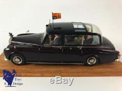 1/43 Fyp Rolls Royce Phantom VI Pgh 101 Camberra III 1978 Avec La Reine