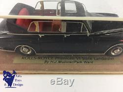 1/43 Fyp Rolls Royce Phantom VI State Landaulet By Mulliner Factory Built