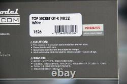 1/43 IGNITION MODEL Nissan Skyline GTR R32 Top Secret White IG1526