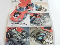 1/43 KIT Feeling43 FERRARI 250 LM le Mans 1965 no amr bbr hiro bosica