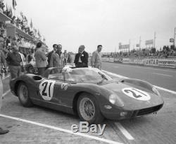 1/43 KIT WHITE METAL Ferrari 250 P 1° Le Mans 1963 no amr bosica hiro
