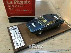 1/43 Le Phoenix 100 pcs Ferrari DINO 308 GT4 1974 BLUE LePhoenix no bbr amr