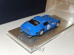 1/43 MVM43 Ferrari 250 GTO chassis 3769 GT Albi 1964 n/ m111 hiro amr