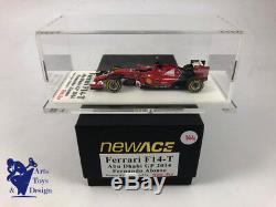 1/43° Newace Tameo Ferrari F1 F14 T Grand Prix Abou Dabi Fernando Alonso 2014