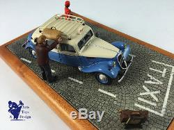 1/43 ORIGINAL MINIATURES DEVOS CITROEN TRACTION FAMILIALE TAXI BLEU CORDINA
