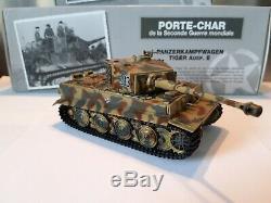 1/43 Porte Char Famo sdkfz 9 + Tiger Ausf. E camo 3 tons Allemand WW2 Rare++