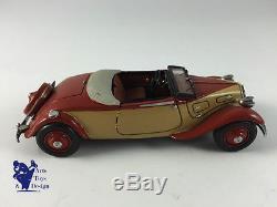 1/43 ROLAND DEVOS CITROEN TRACTION CABRIOLET 11 CV LARGE 1936 TRES RARE