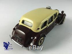 1/43 ROLAND DEVOS CITROEN TRACTION FAMILIALE 11 CV TAXI 1954 AV MALLE TRES RARE